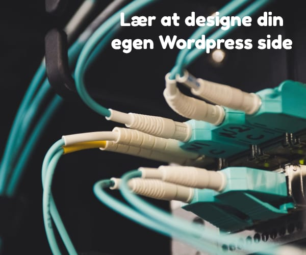 Lær at designe din egen Wordpress side