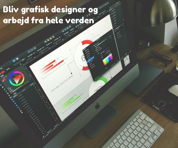 Bliv grafisk designer og arbejd fra hele verden